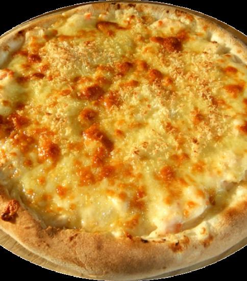カニクリームピザ